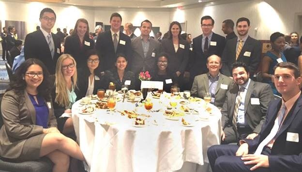 Akin Gump's 11 Houston summer associates worked with Catholic Charities pro bono program. The associates were from the University of Texas, University of Houston, Tulane University, and Duke.