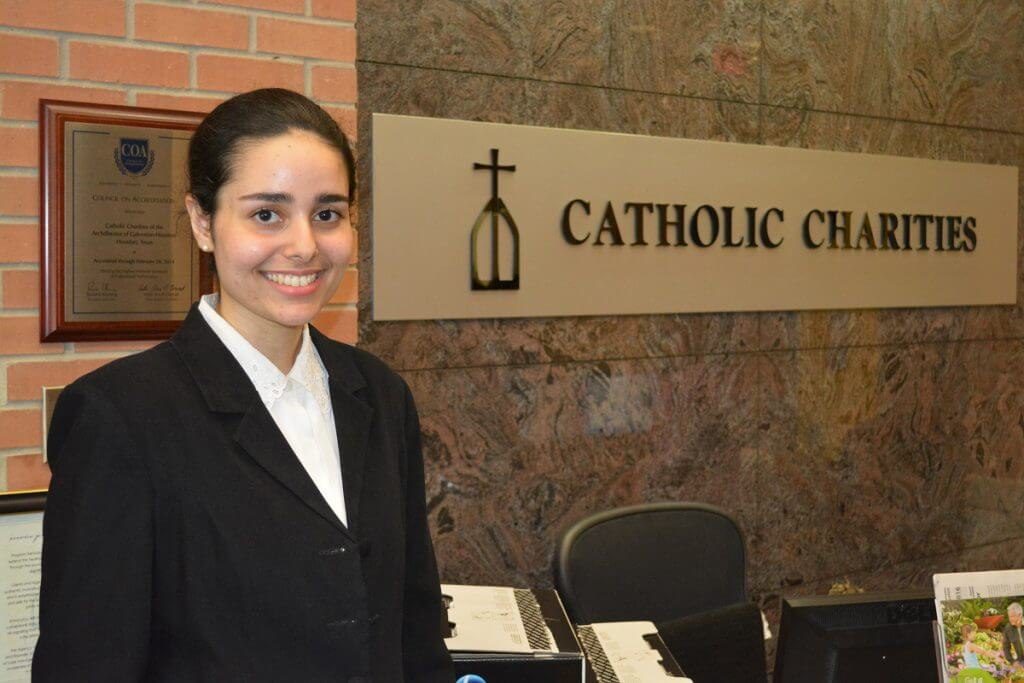 Catholic Charities' Mariame Aana was named a Top Texan Under 30 by CultureMap.