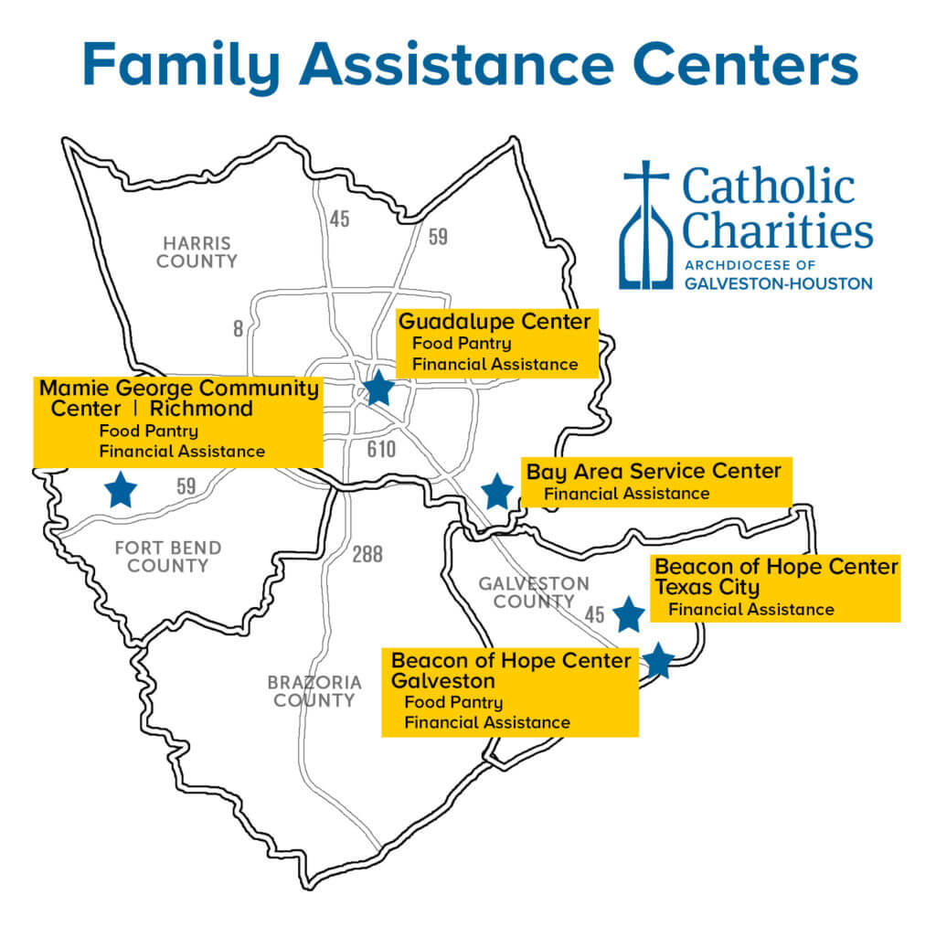 Catholic Charities' Family Assistance Centers