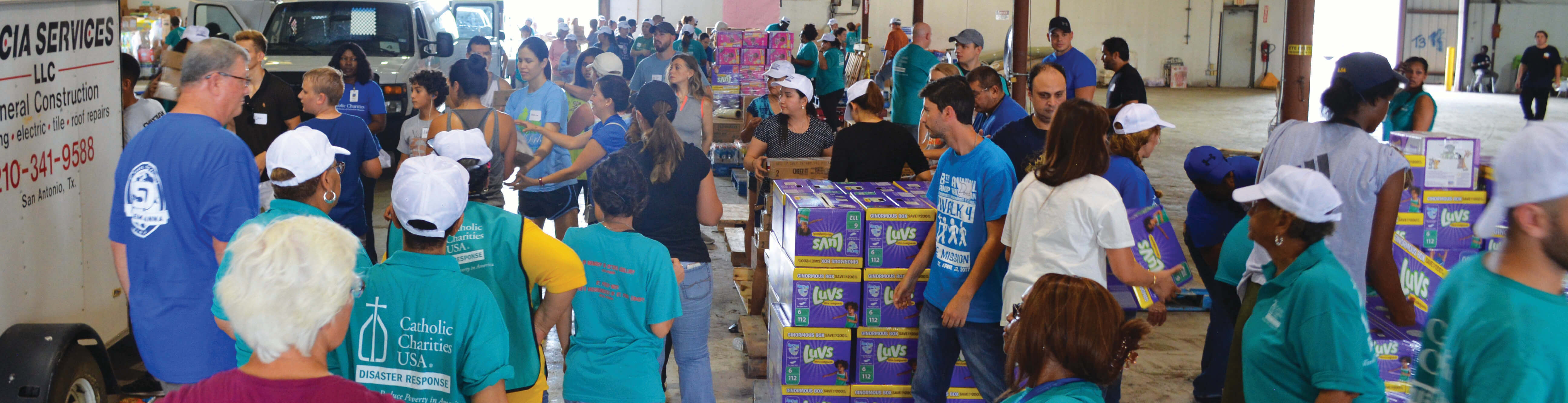 Catholic Charities is the leader in long-term disaster case management.
