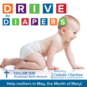 Month of Mary Drive for Diapers @ Catholic Charities