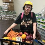 You help people like Mary get enough to eat through Catholic Charities' Family Assistance Program.