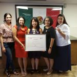 Ohtli Award presented to Catholic Charities' Cabrini Center by the Mexican Consulate