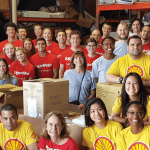 Volunteer at Catholic Charities with your corporate group or organization!