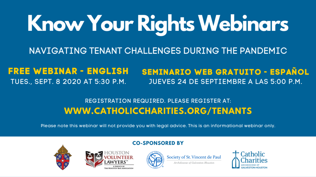 Know Your Rights Webinars