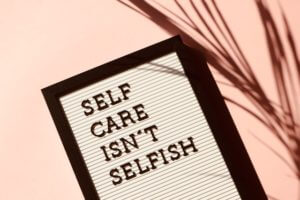 While at home for COVID-19, Catholic Charities offers some tips for self-care.