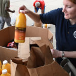 Catholic Charities continues to serve the community during the coronavirus pandemic.