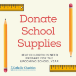 Donate school supplies and help children in need head back to school!