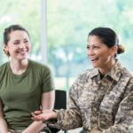 Mental health for active duty, veterans and their families. Catholic Charities can help!