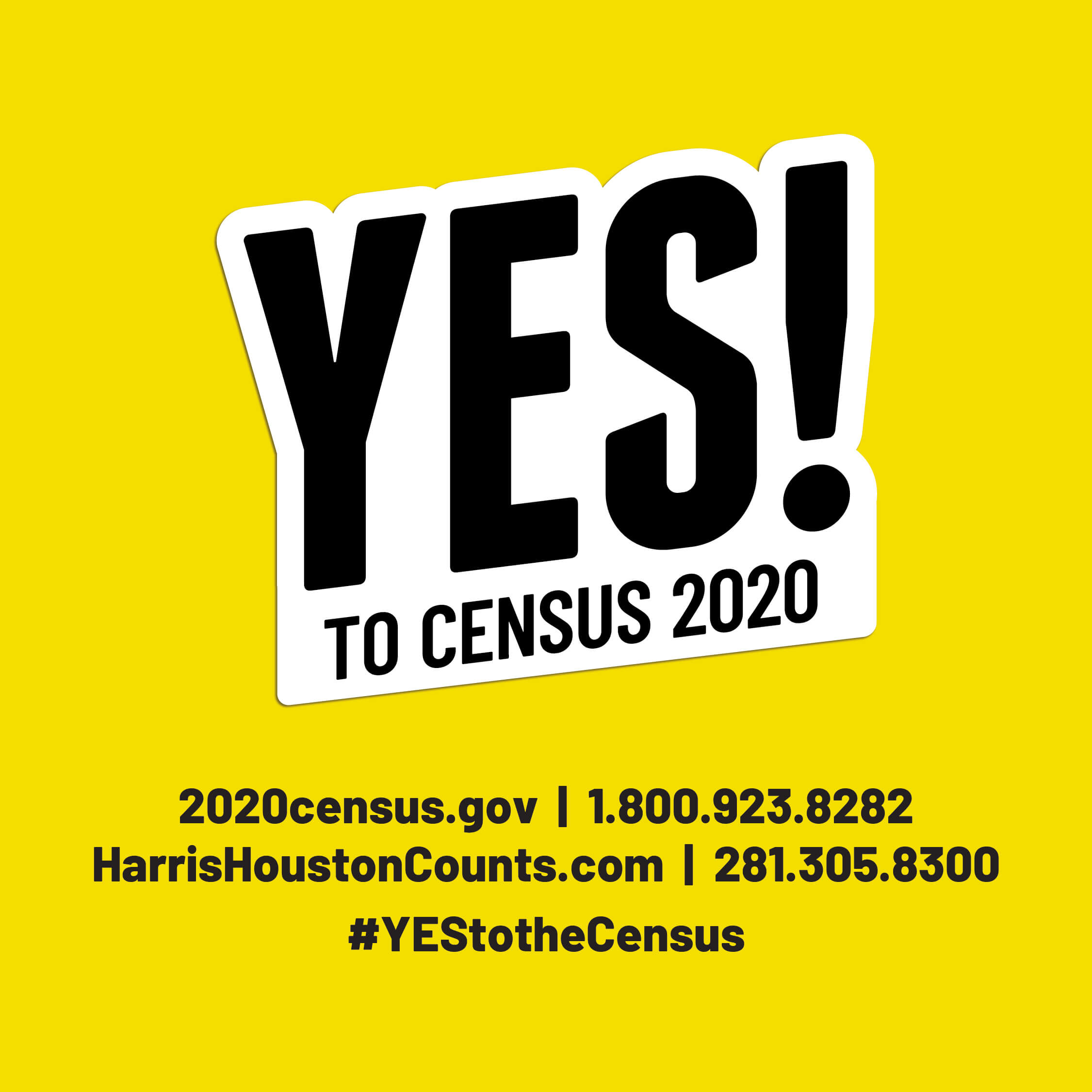 Be Counted.  We all need to participate in the U.S. Census!