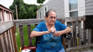 You help vulnerable seniors like Ramona.