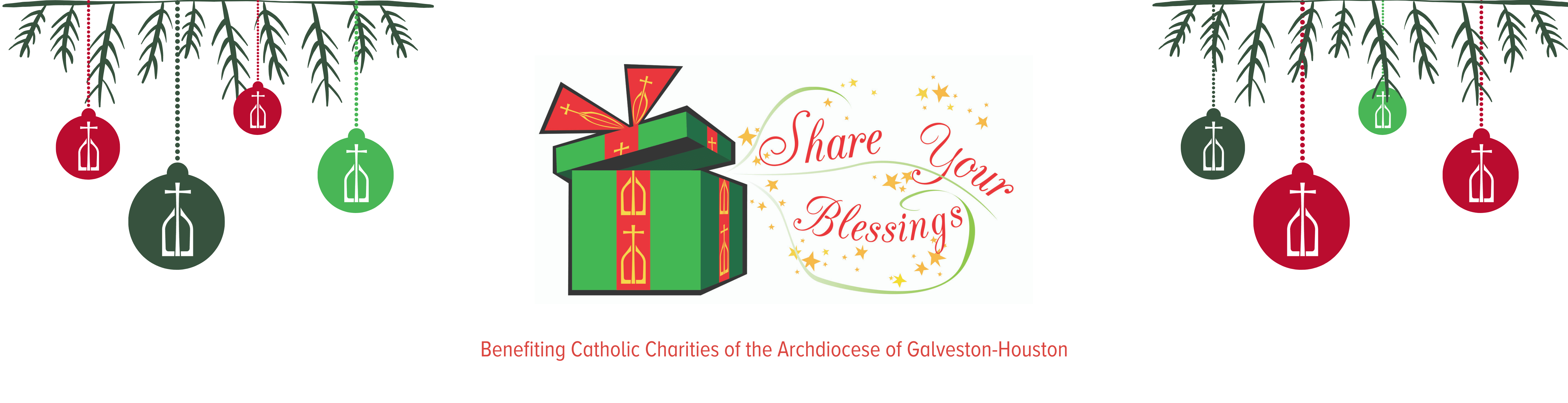Share Your Blessings benefiting Catholic Charities of the Archdiocese of Galveston-Houston