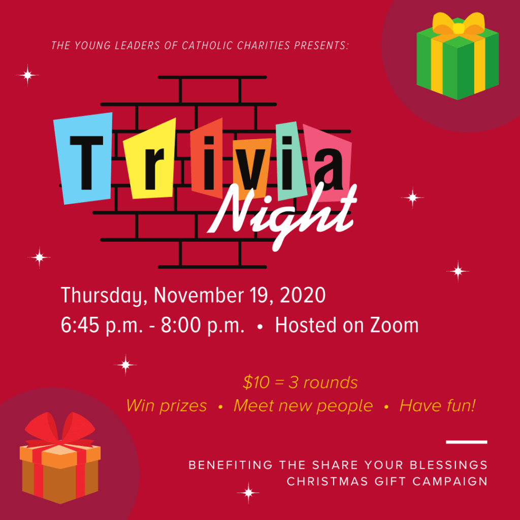 Trivia Night by the Young Leaders of Catholic Charities